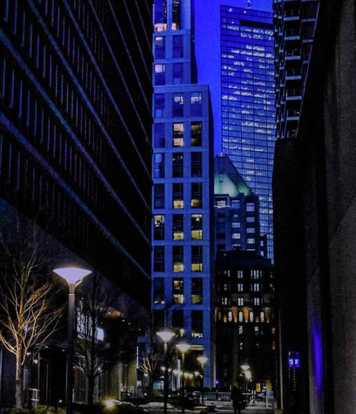 Photograph - Boston Winter Blue by Christina Maiorano