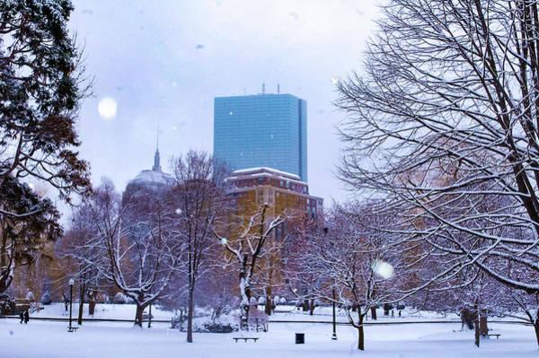 Photograph - Boston Winter Wonderland by Christina Maiorano