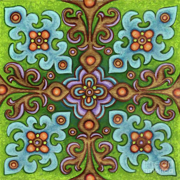 Painting - Botanical Mandala 4 by Amy E Fraser
