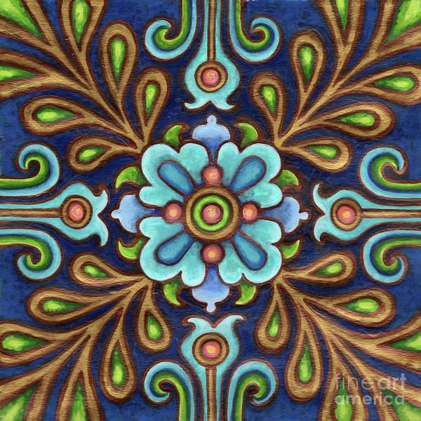 Painting - Botanical Mandala 9 by Amy E Fraser