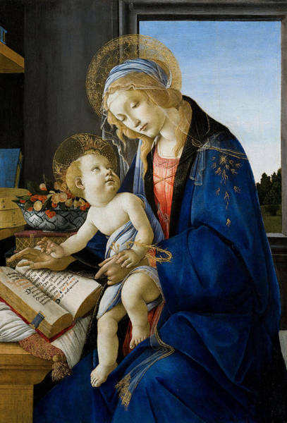 Wall Art - Painting - Botticelli Madonna by Granger