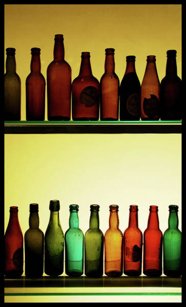 Stout Wall Art - Photograph - Bottles At Guinness Storehouse, Dublin by Michal Osmenda