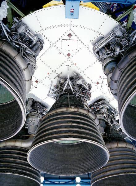 Exploration Photograph - Bottom Of Rocket by Steve Allen