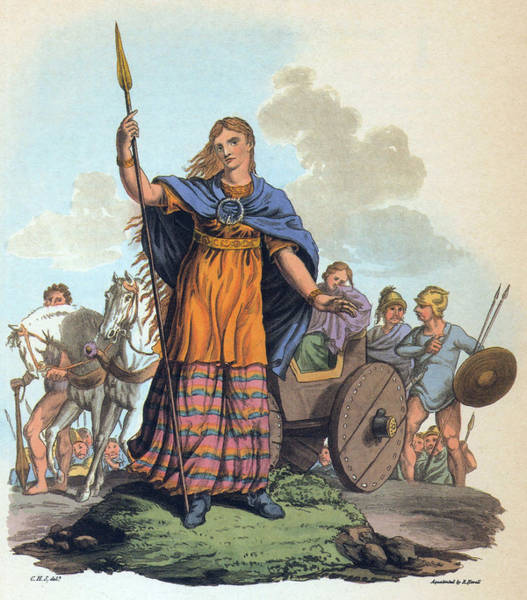 Photograph - Boudica, Queen Of Iceni by Science Source