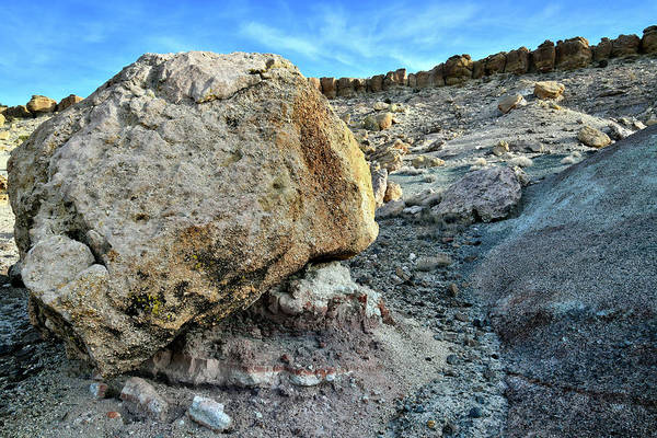 Photograph - Boulder On Red Point Dunes by Ray Mathis