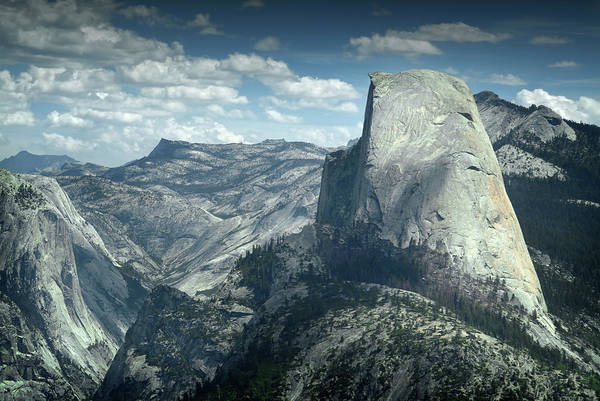 Wall Art - Photograph - Boulder Overlooking Yosemite by Chris Clor