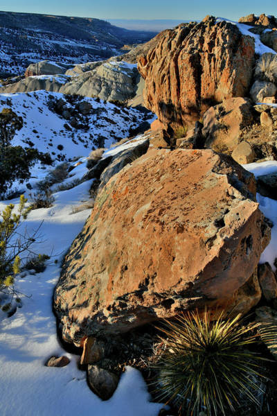 Photograph - Boulders Above Bangs Canyon by Ray Mathis