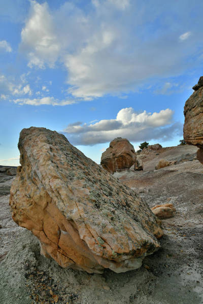 Photograph - Boulders Of Blm Bentonite Site by Ray Mathis