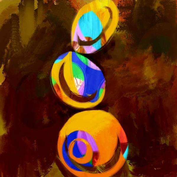 Wall Art - Digital Art - Bounce by Jonesy