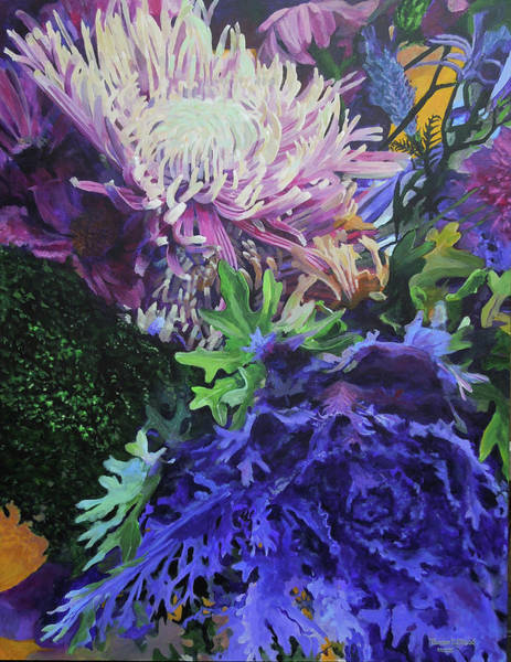 Painting - Bouquet 1 by Thomas Stead