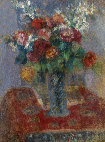 Wall Art - Painting - Bouquet, 1900 by Camille Pissarro