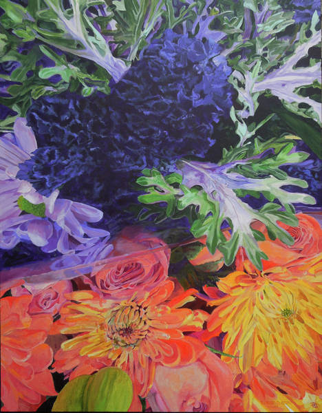 Painting - Bouquet 2 by Thomas Stead