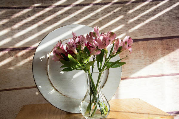 Photograph - Bouquet And Plate by Jennifer Wick