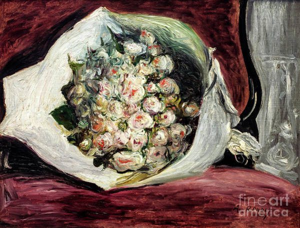 Painting - Bouquet At The Opera by Auguste Renoir