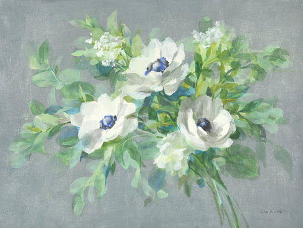 Wall Art - Painting - Bouquet For You by Danhui Nai
