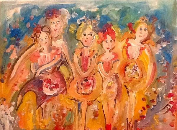 Wall Art - Painting - Bouquet by Judith Desrosiers