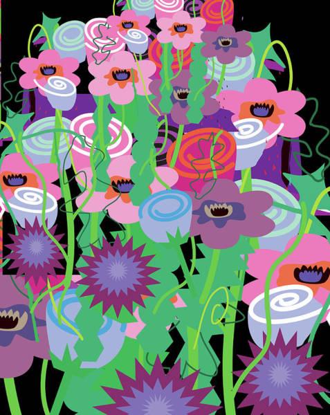 Digital Art - Bouquet Of Flowers by Charles Harker