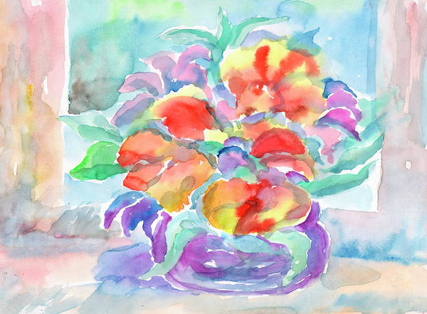 Painting - Bouquet Of Flowers by Irina Dobrotsvet