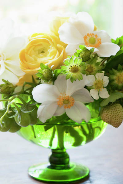 Wedding Bouquet Photograph - Bouquet Of Flowers, Ontario, Canada by Susan Findlay