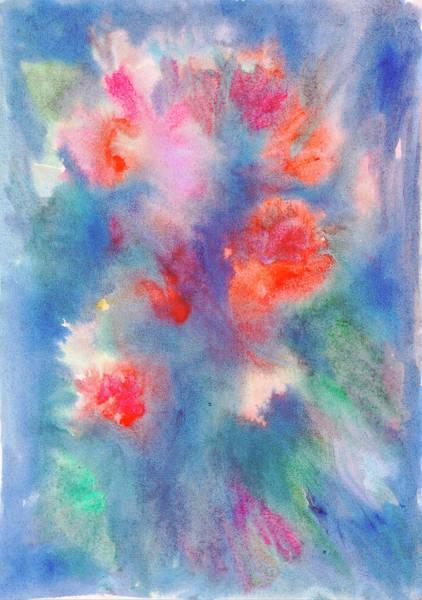 Painting - Bouquet Of Roses by Irina Dobrotsvet