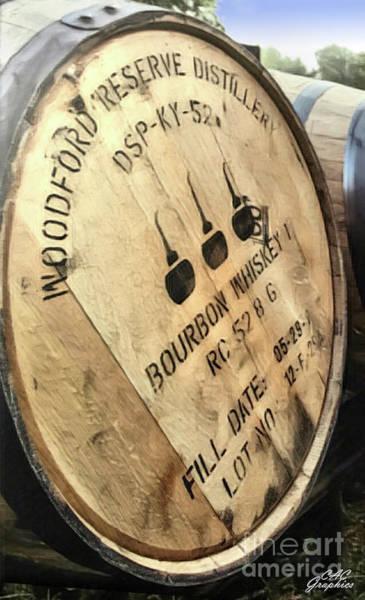 Bourbon Barrel Art Print