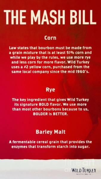Photograph - Bourbon Basics by Mel Steinhauer