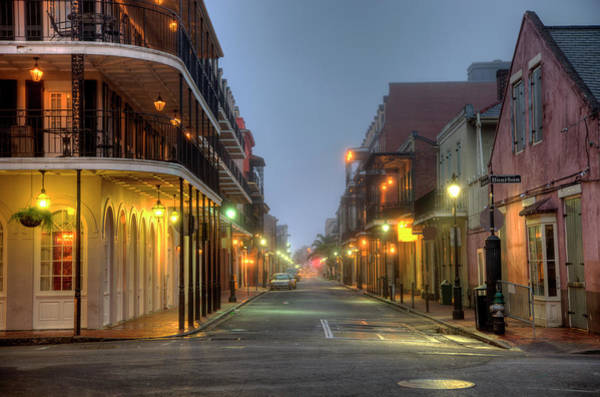 Louisiana Photograph - Bourbon Street by Denistangneyjr
