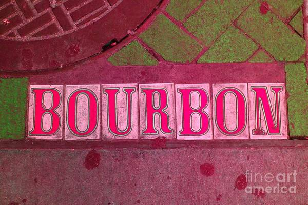 Photograph - Bourbon Street Holiday - New Orleans by Susan Carella
