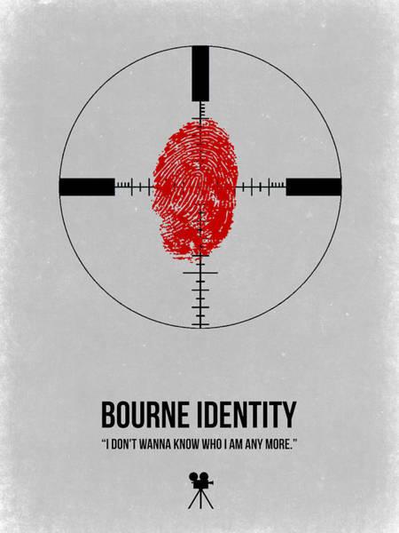 Wall Art - Digital Art - Bourne Identity by Naxart Studio