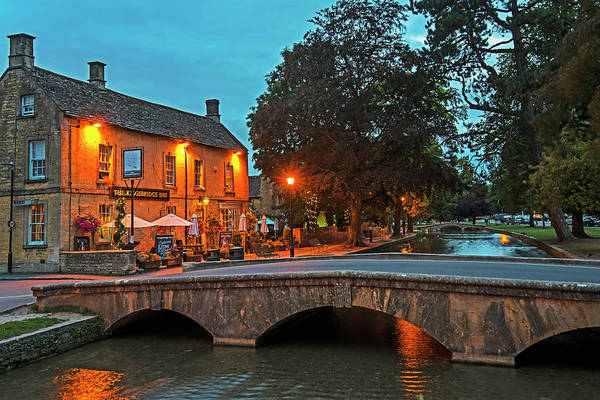 Photograph - Bourton On The Water Cotswolds Uk United Kingdom England Bridge 2 by Toby McGuire