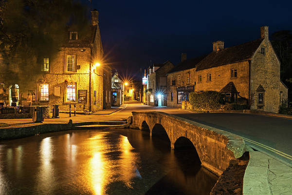 Photograph - Bourton On The Water Cotswolds Uk United Kingdom England Bridge by Toby McGuire