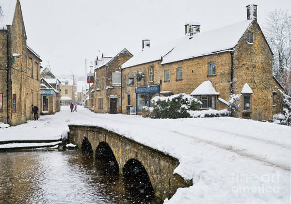 Wall Art - Photograph - Bourton On The Water In The December Snow  by Tim Gainey