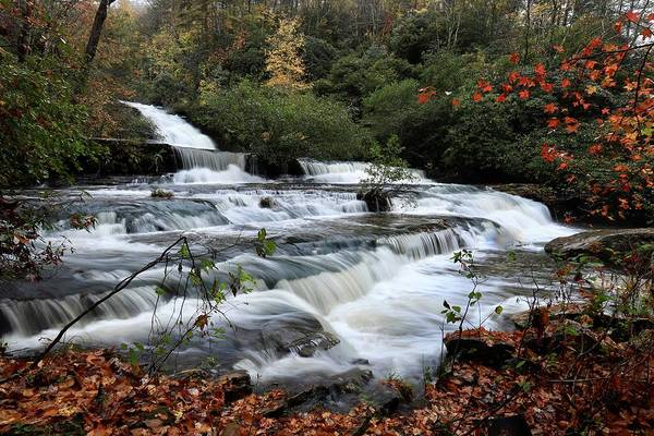 Photograph - Boushell Falls by Chris Berrier