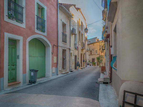 Photograph - Bouzigue Street Scene by Jessica Levant