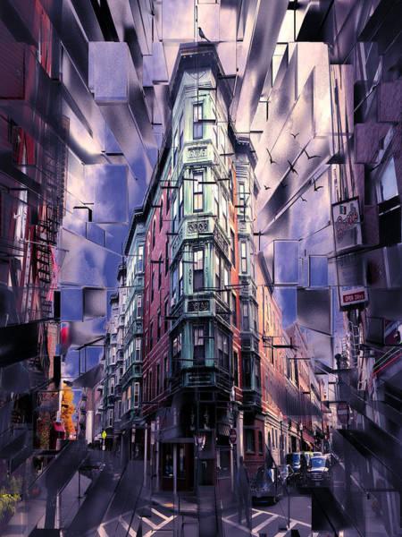 City Scape Digital Art - Bova's Bakery by Tim Palmer