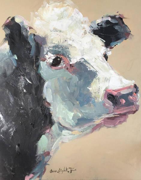 Wall Art - Painting - Bovine Beauty by Susan Elizabeth Jones