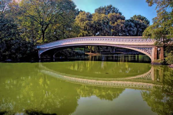 Wall Art - Photograph - Bow Bridge by Paul Coco
