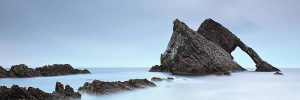 Photograph - Bow Fiddle Rock In The Twilight by Grant Glendinning