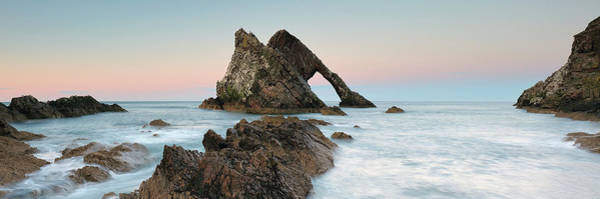 Wall Art - Photograph - Bow Fiddle Rock Sunset - Port Knockie by Grant Glendinning