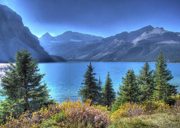 Bow River Wall Art - Photograph - Bow Lake by Images By Nancy Chow