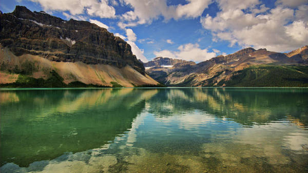 Bow River Wall Art - Photograph - Bow Lake by Photography Aubrey Stoll