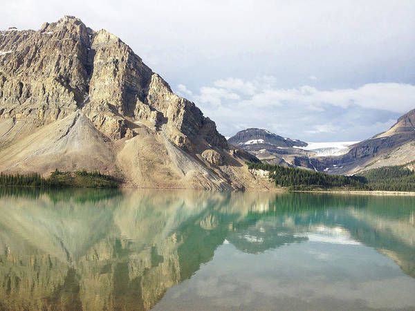 Bow River Wall Art - Photograph - Bow Lake by William Andrew