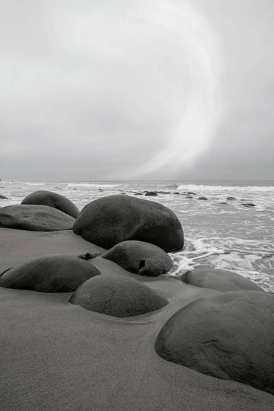 Bowling Ball Wall Art - Photograph - Bowling Ball Beach California Morning by Betsy Knapp