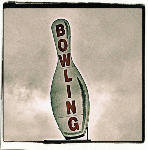 Ten Pin Bowling Wall Art - Photograph - Bowling by Photograph By Bob Travaglione Fotoedge