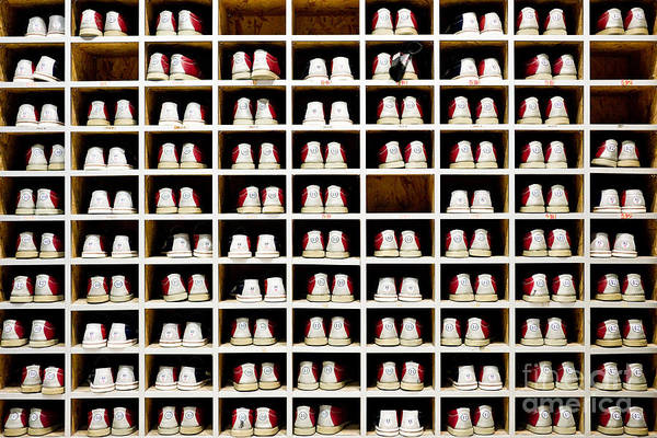 Activity Wall Art - Photograph - Bowling Shoes by Delpixel