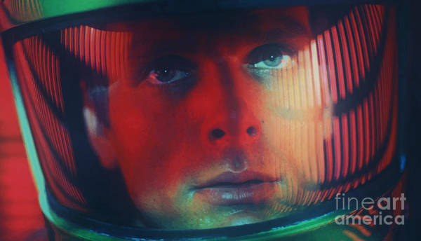 Mixed Media - Bowman Hal 9000 - 2001 A Space Odyssey 1968 by Kultur Arts Studios