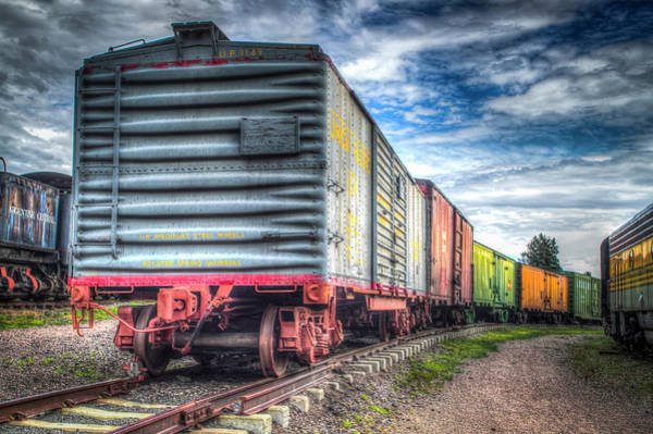 Box Cars Art Print by G Wigler