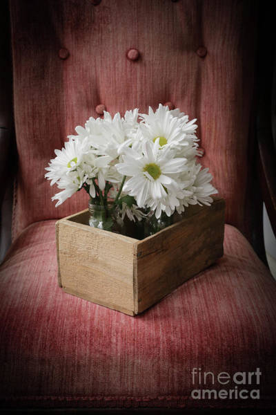 Photograph - Box Of Flowers by Edward Fielding