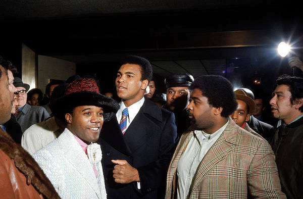 Madison Square Garden Photograph - Boxer Cassius Clay C At Madison Square by Bill Ray