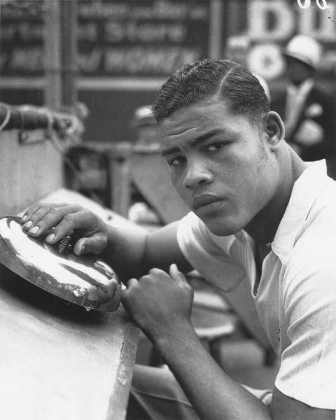 Photograph - Boxer Joe Louis by Chicago History Museum